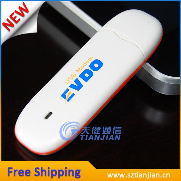 FREE SHIPPING HOT SALE CHEAP EVDO CDMA Rev.A 3.1M Unlocked 3G Dongle Modem(China (Mainland))