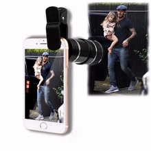 Buy 12X Optical Zoom Lenses Mobile Phone Telescope Telephoto Lens iPhone 5 6 6s 7 Plus Xiaomi redmi note 3 Clips Phone Lens for $10.99 in AliExpress store