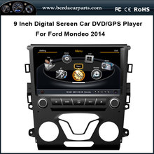 9inch Car Stereo for Ford Mondeo 2014 With DVD GPS Navigation Radio RDS Bluetooth Audio Video Player Free Map