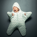 Hot Sale Shipping Free Cute Starfish Baby Sleeping Bag Unisex Winter Babies Sleep Sack Warm Baby