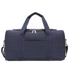 Wobag toile sac de Sport grande capacité sacs de voyage bagages à main décontracté hommes Sport sac de Sport femmes voyage sac organisateur(China)
