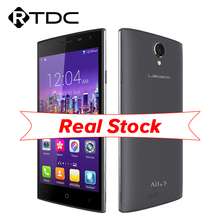 "Original Leagoo Alfa 5 Mobile Phone 3G WCDMA Android 5.1 5.0"" HD SC7731 Quad Core 1G RAM 8GB ROM 8.0MP Dual Sim GPS WIFI(China (Mainland))"