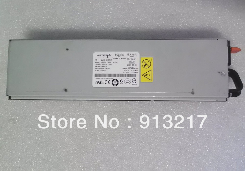 24R2731 24R2730 7001138-Y000 7001138-Y002 Power Supply for X3650 X3400 X3500 DHL EMS free shipping(China (Mainland))