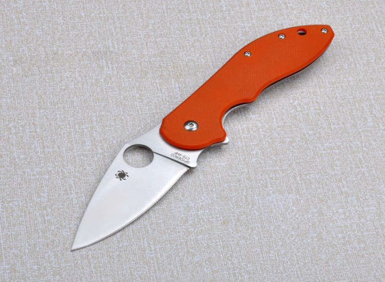 Buy Hot sell C172CTS folding knife G10S handle spider claw blade tactical jungle camping tool survival hunting knife cheap