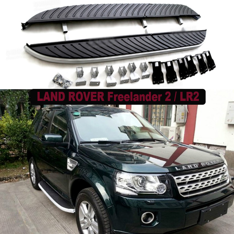 Car Running Boards Auto Side Step Bar Pedals For LAND