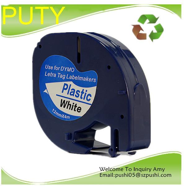 Лента для печатающего устройства PUTY 12 Dymo Letratag 91201 лента для печатающего устройства tz2 c51 tze c51 24 tz puty