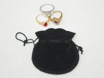 free shipping by dhl ems  ups ,/fedex  exquisite  velvet   Jewelry Gift Bags Pouches ,packing bag   gift bag