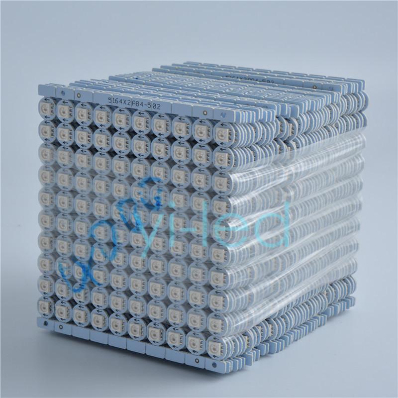 Wholesale1K 1000pcs APA102 RGB 5050 Chips LEDs (10MM*3MM) Address DC5V DATA and CLOCK seperately(China (Mainland))