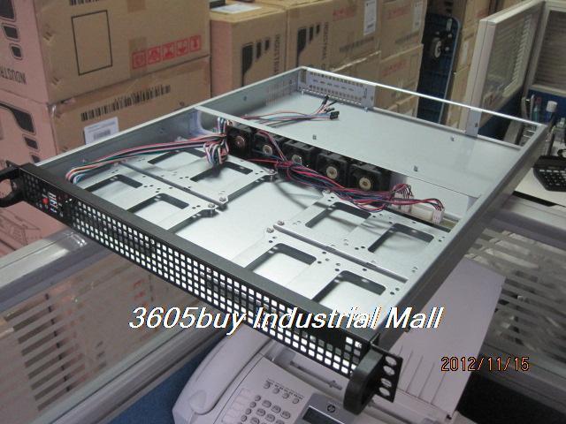 1u550 server computer case industrial computer case 4 hard drive 5 speed fan<br><br>Aliexpress
