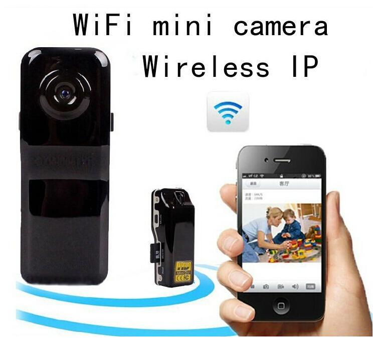 MD81S WiFi Camera Mini DV Wireless IP Camera HD Micro Spy Hidden Cam Voice Video Recorder Mini Camcorder Camara(China (Mainland))