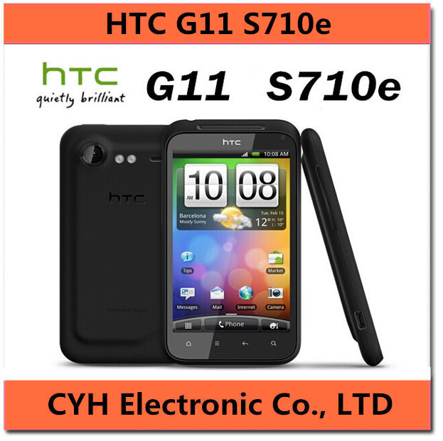 """G11 Original Unlocked HTC Incredible S S710e Cell phone Android 3G GPS Wi-Fi 8.0MP 4.0""""TouchScreen(China (Mainland))"""