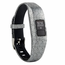 Colorful Classic Strap Accessory Replacement Bands for Garmin Vivofit 3 with Clasps Fitness Bands Suitable to All Sizes
