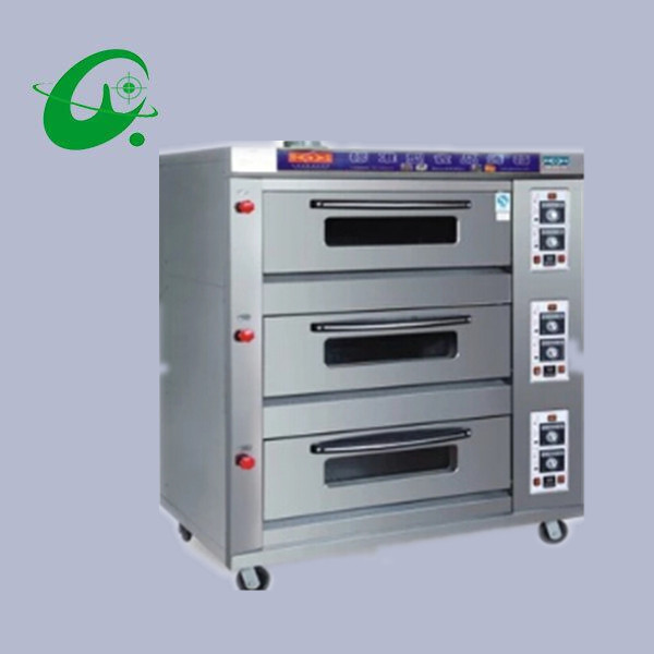 3layers 9trays electric commercial horizontal oven, Commercial electric oven bread cake oven(China (Mainland))