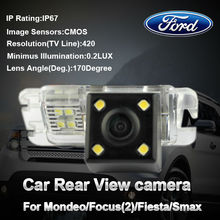 Waterproof car special camera reverse backup rearview for Ford Mondeo/Ford Focus 2/Fiesta/S Max(China (Mainland))