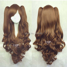 2014 NEW FREE SHIPPING  The Japanese original persistent wind super adorable Lolita mixed color animation Cosplay wig