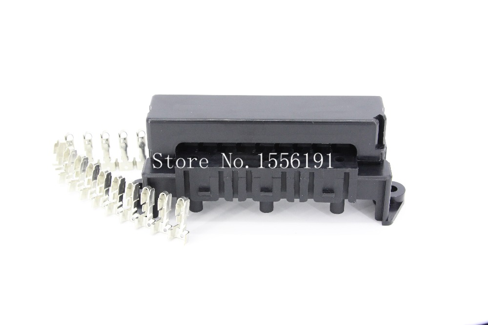online get cheap automotive fuse terminals aliexpress com 10 way auto fuse box assembly terminals and 3pcs relay seats dustproof fuse box fuse