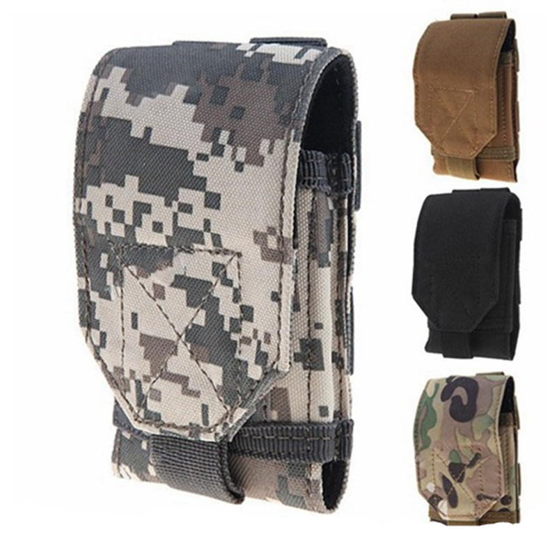 Nylon Military Tactical Molle Army Phone Pouch Accessory Bag Case For iPhone 6/6 Plus/5S 4S Samsung Galaxy S6/S5/S4/ Note 4/3/2(China (Mainland))