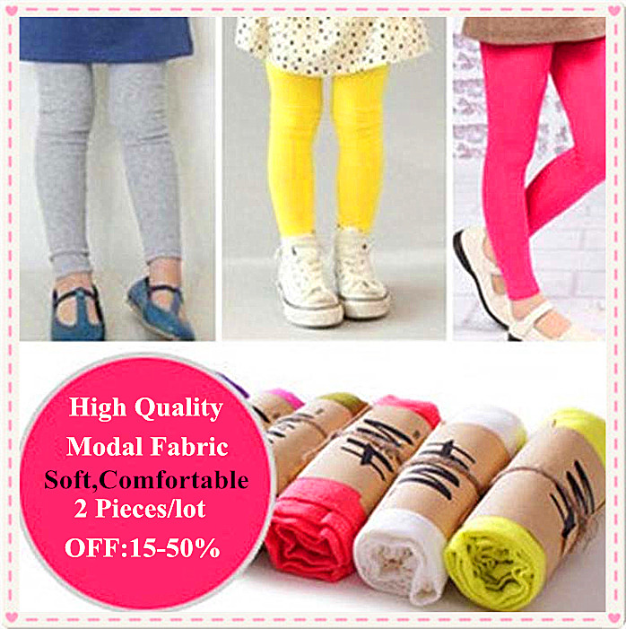 New 2014 Baby Small candy-colored Soft Modal Children pants leggings Kids child - Casey Fashion Internation Co., LTD store