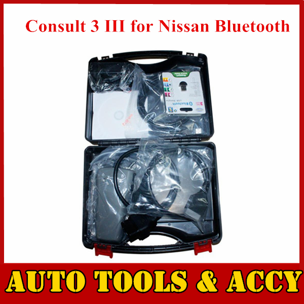 HOT selling Consult 3 III for Nissan Bluetooth Professional Diagnostic Tool Support Car Model From 1996 to 2011(China (Mainland))