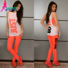 Gagaopt 2016 Fashion 3 pieces Tracksuits Women Sports Elegant suit Free Shipping leggings