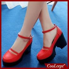women square high heel shoes quality casual lady sexy spring fashion heeled footwear brand pumps heels shoes size 34-39 P16271