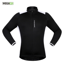 Buy WOSAWE New Long Sleeve Cycling Jerseys Rear Reflective Tabs MTB Bike Bicycle Wind Jerseys Protect Jackets Cycling Clothings for $20.99 in AliExpress store