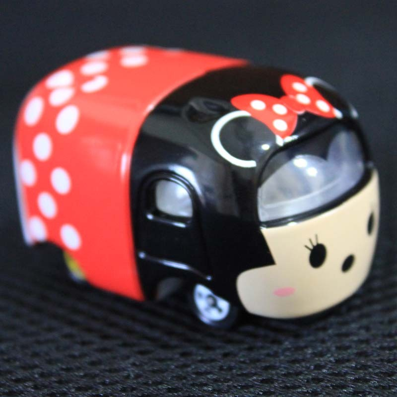 Cute Minnie Tusm Tsum Tomy Tomica Minnie Diecast Metallic Toy Automobile For Kids Present