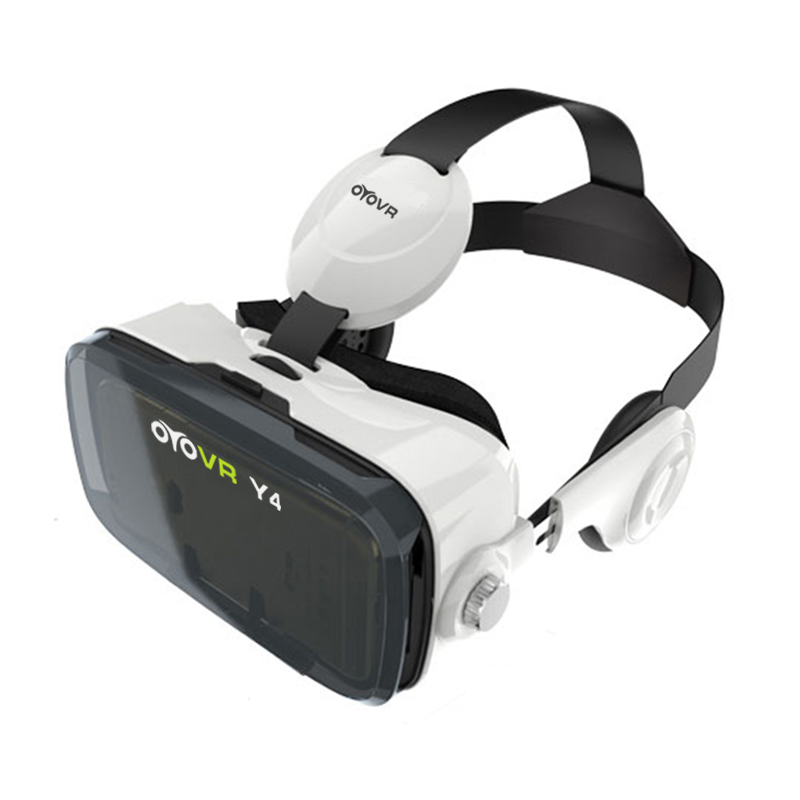 2016 OYOVR Y4 (4.0 Version) VR Box 120 FOV 3D VR Virtual Reality 3D Movie Video Game Glass with Headphone for 4.7-6.2 inch Phone(China (Mainland))