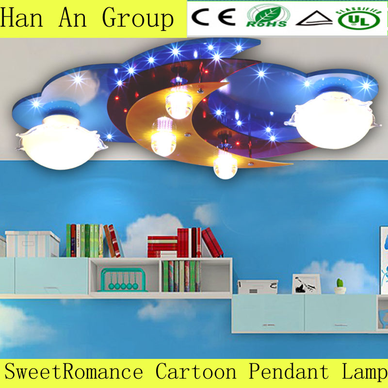 Children's Favorite Cartoon Pendant Lamp E14 LED Source And Bright Lighting the Best children Gift Lovely Worthy(China (Mainland))
