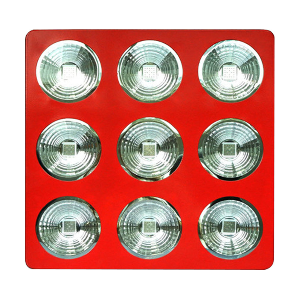 High Power 675W COB Apollo 9 Hydroponic Lamp 225x3W LED Grow Light Panel Red Blue(China (Mainland))