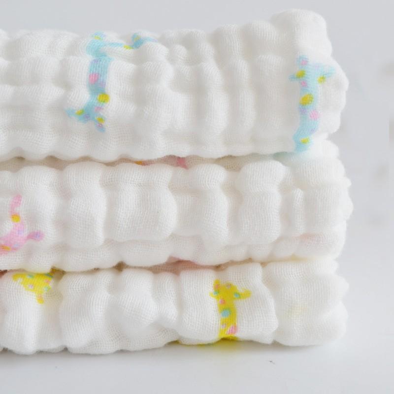 free shipping 8pcs/lot Baby Cotton Gauze Muslin Face Towel Baby Towel Wash Cloth Handkerchiefs Infant Baby Feeding Saliva Towel