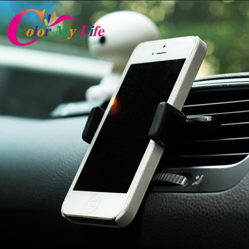 Free Shipping Car Holders Car Outlet Universal Phone Holder For VOLVO V40 V60 S60 S80 XC60 XC90 For Citroen C2 C3 C4 Picasso C5(China (Mainland))