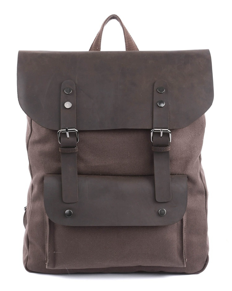 9001C J.M.D New Style Canvas and leather Men Travel bag Backpack 5 PCS/LOT<br><br>Aliexpress