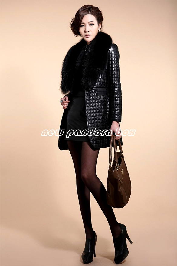 Женская одежда из кожи и замши Brand new , Faux ,  SV007257