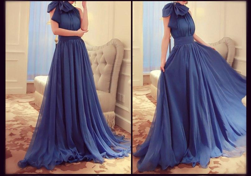 Платья с длинной пышной юбкой