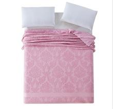 Floreale cotone coperta asciugamano estate tiro adulti filo coperta singola doppia dimensione 4 colori singolo pieno doppio formato  (China (Mainland))