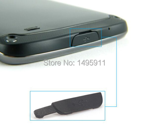 USB Cover Flap For Samsung I9295 Galaxy S4 Active I537 USB Data Charging Port Dust Plug Block Cover(China (Mainland))
