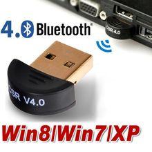 Free shipping Mini USB Bluetooth V4 0 Dongle Dual Mode Wireless CSR V 4 0 Adapter