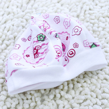 Cotton Soft Baby Hats for Boys Girls Infant Empty Top Unisex Cotton Cap for Newborn Baby Beanies 021
