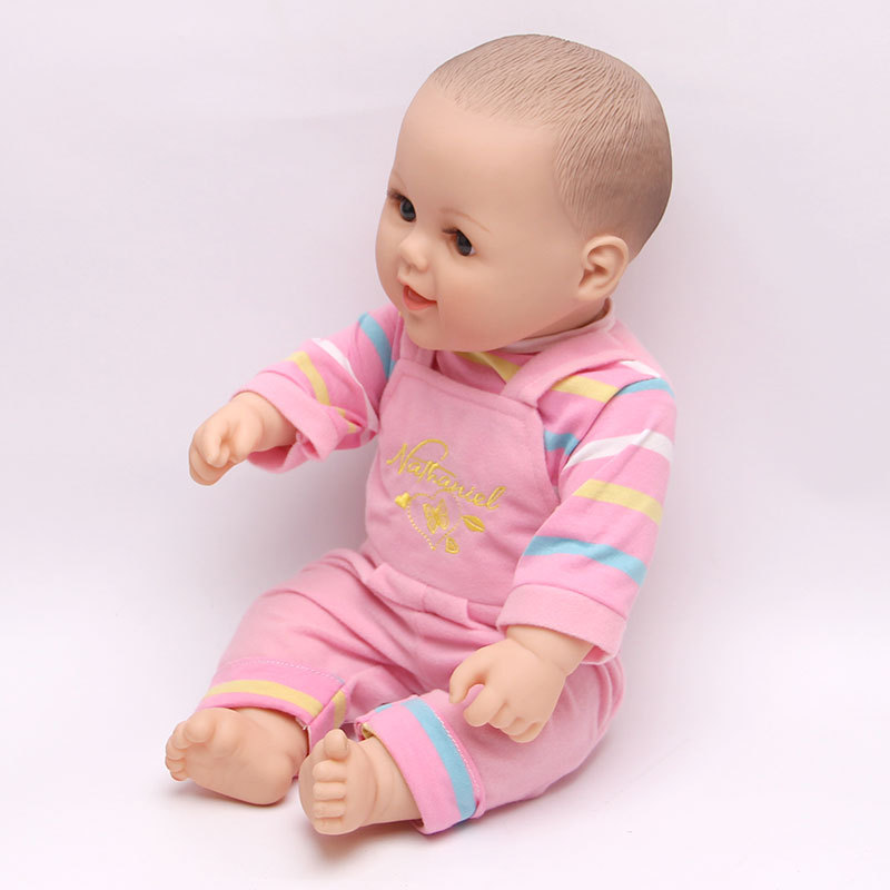 1PC 33cm Latex baby doll simulation doll toys joint movable soft domestic Fresh Mother Training Aids(China (Mainland))