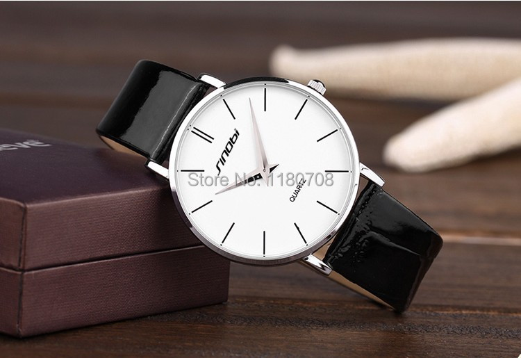 Unisex Men Women Derss Watches Classic Retro Minimalist Style Leather Belt Thin Table Dress Watches<br><br>Aliexpress