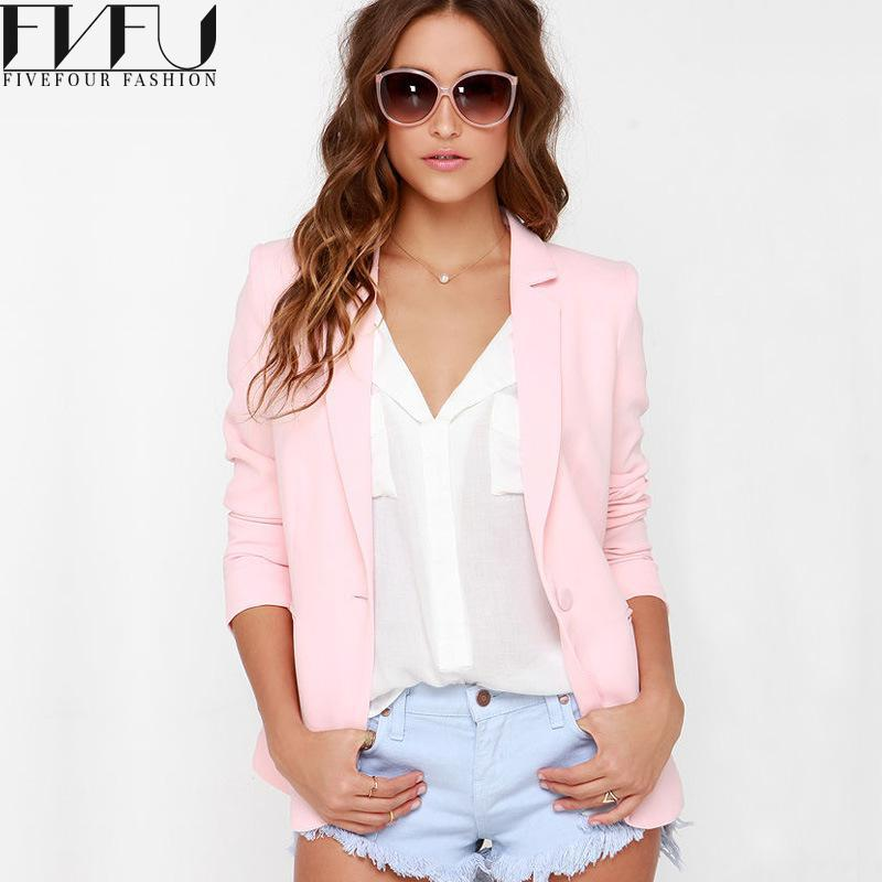 Womens Pink Blazer Jacket Promotion-Shop for Promotional Womens