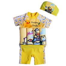 Детская одежда для плавания с человеком-пауком цельнокроеный съемный плавучий купальный костюм-поплавок, шапочка для плавания/шапочка, рук...(China)