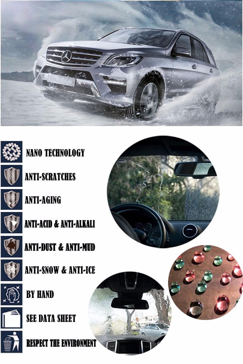 Купить Автомобиль для укладки покрытия жидкого стекла дождь и вода отталкивают нано гидрофобным покрытием лобовое стекло автомобиля самостоятельно очиститель