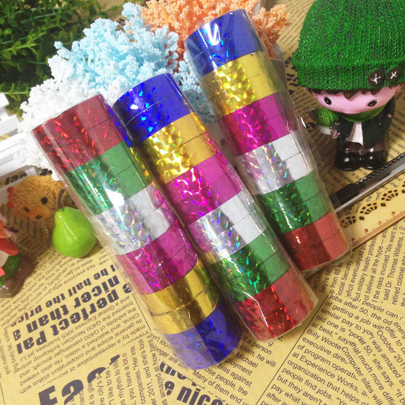 Laser stationery tape 1.2 * 2.3 m concentric / Heart / Star / fan / butterfly Available colors randomLC<br><br>Aliexpress
