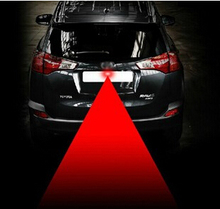 2015 Hot Factory Wholesale Car Laser Fog Light Rear Anti-Collision Driving Safety Signal Warning Lamp Useful in Bad Whether(China (Mainland))