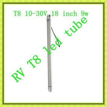 RV T8 LED Tube 8-30V Wide voltage constant current ,RV led light T8 tube solar,T8  12V 24V RV LED Tube,RV T8 18Inch LED Tube.