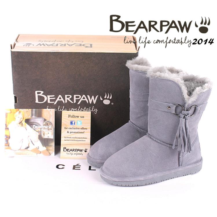 2014 winter women-shoe bearpaw boots women tassel 615 knee-high snow boots cowhide wool fur bear paw boots