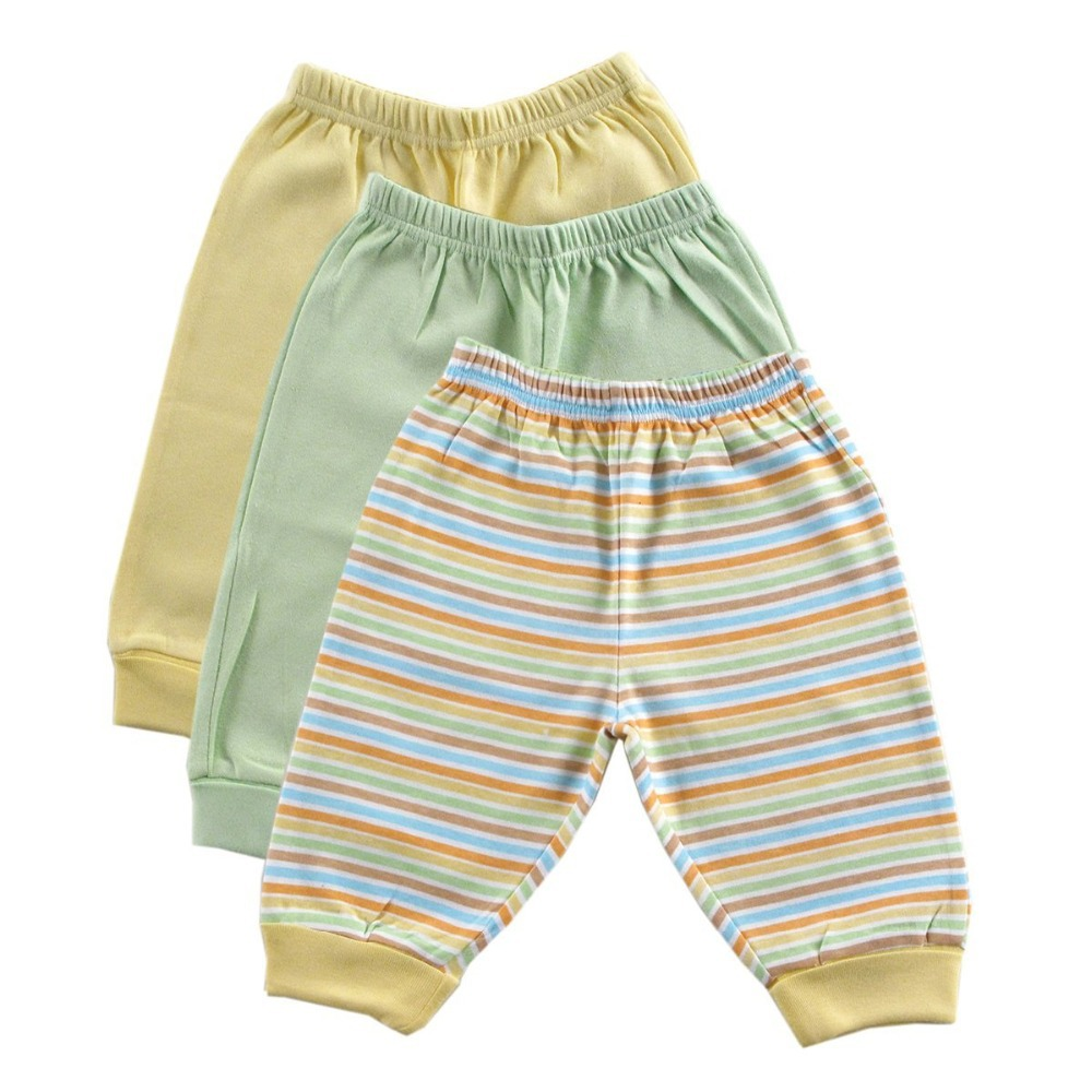 0-3 months yellow Unisex similar Carter 3Pcs/lot  PP pants of foreign trade Baby pants Pure cotton trousers Modern Style
