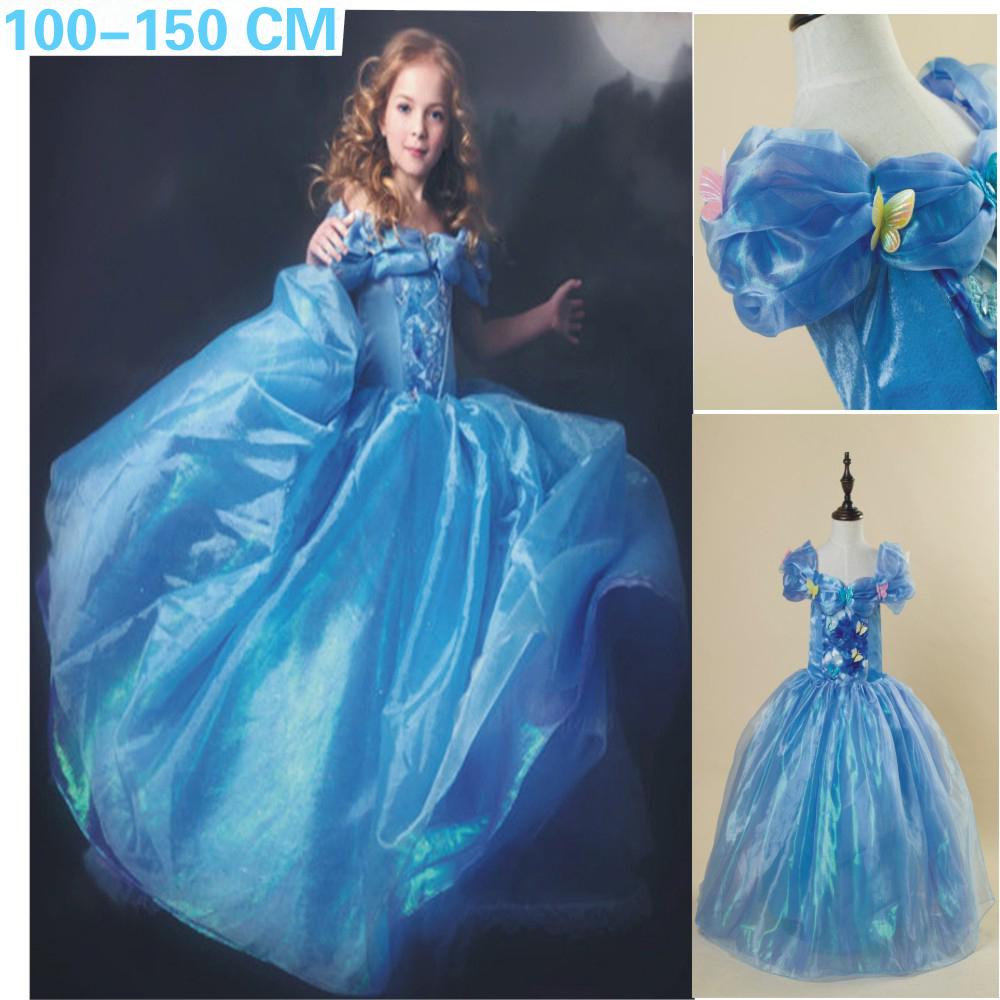 Cinderella Wedding Dress Child : Aliexpress buy baby girls dresses summer